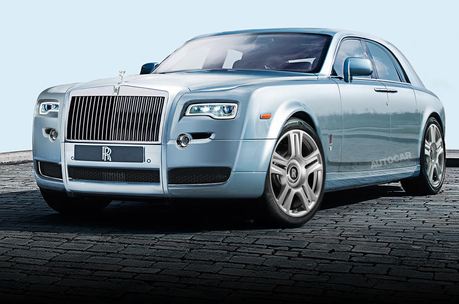 Rolls-Royce starts work on all-new Phantom
