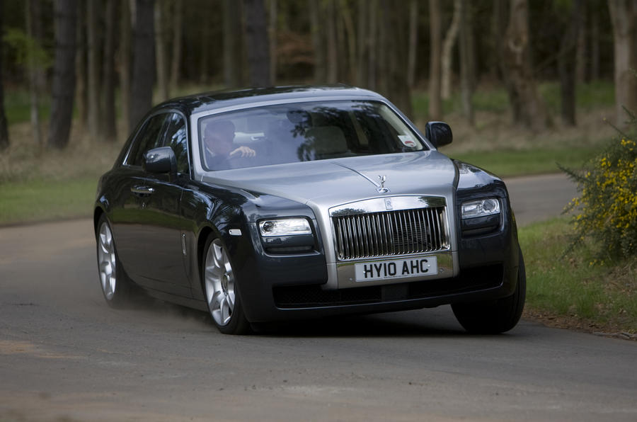 Bentley Mulsanne V Rolls Ghost Autocar
