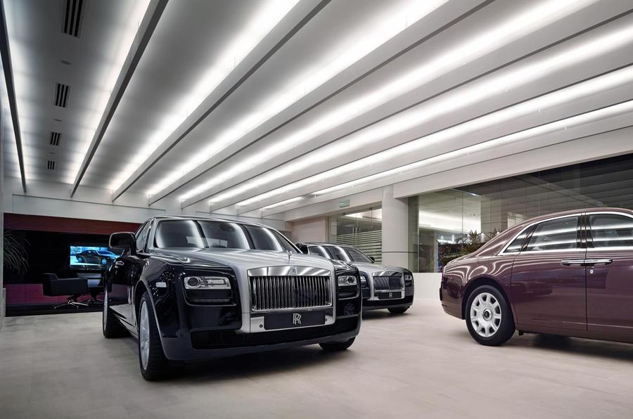 Rolls' Malaysian showroom opens
