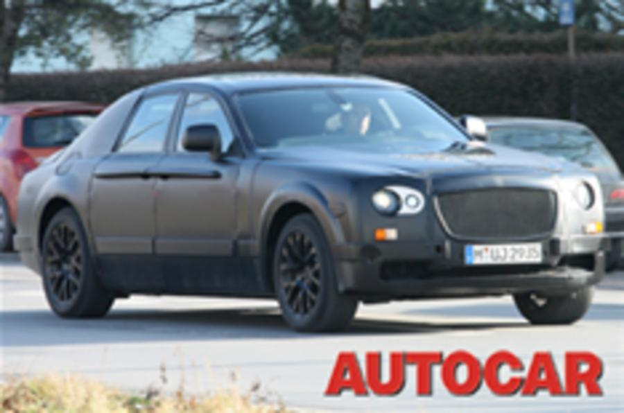 World exclusive: Rolls-Royce 'RR4' spied