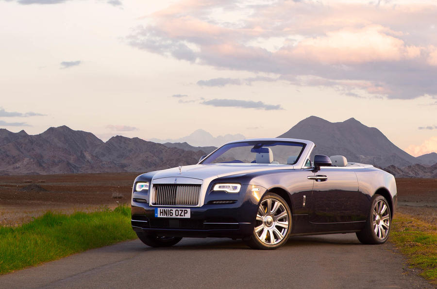 4 star Rolls-Royce Dawn
