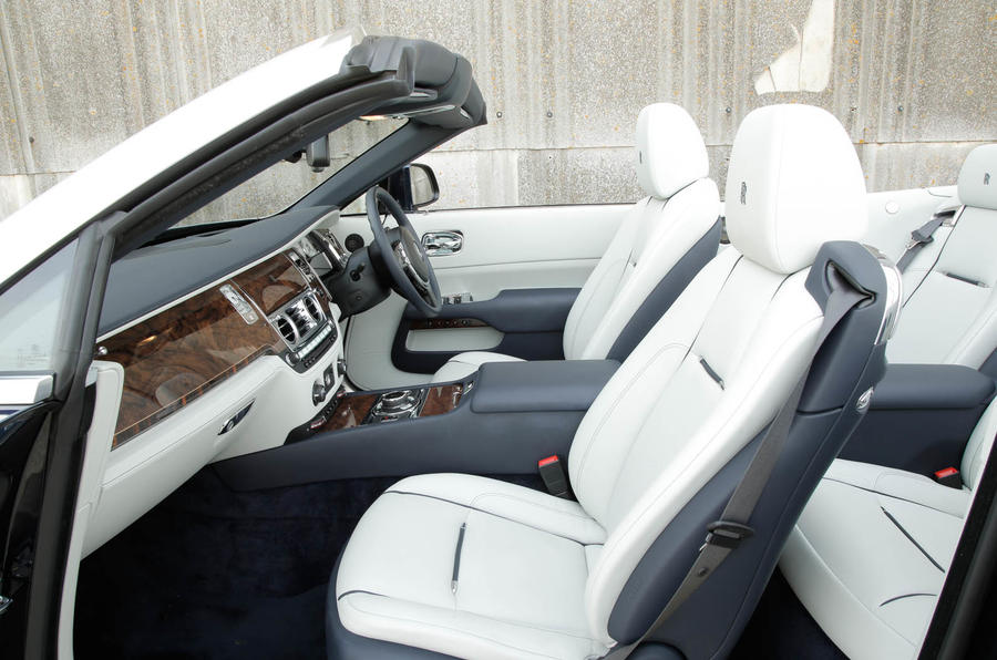 Rolls Royce Dawn Interior Autocar