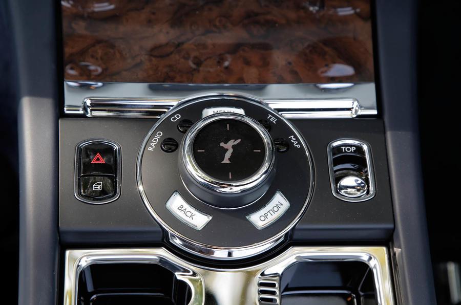 Rolls-Royce Dawn infotainment controller