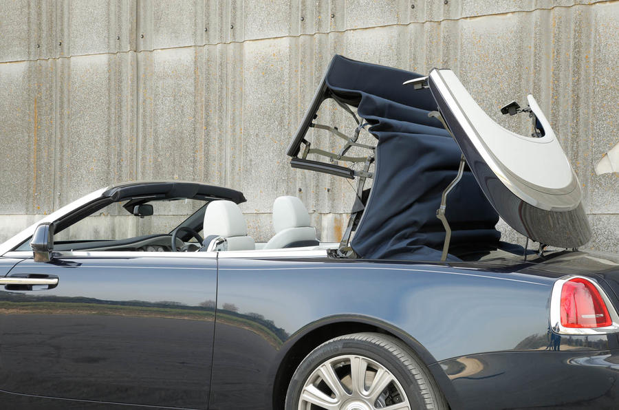 Rolls-Royce roof folding