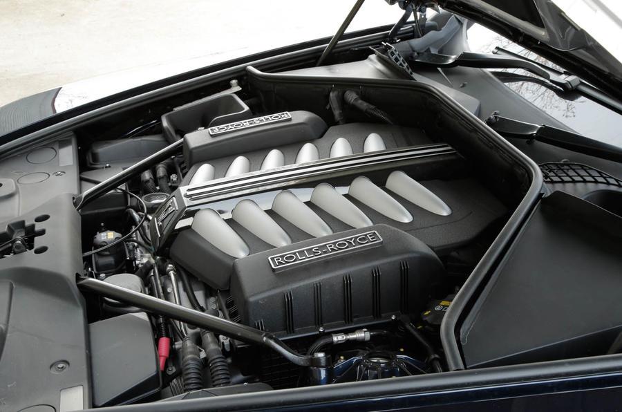 6.0-litre V12 Rolls-Royce Dawn engine