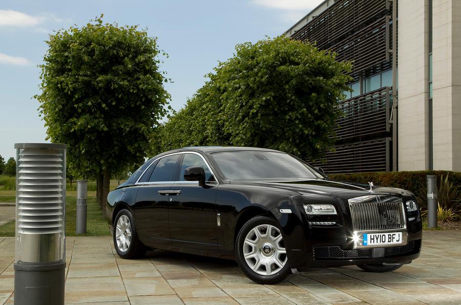 4 star Rolls-Royce Ghost