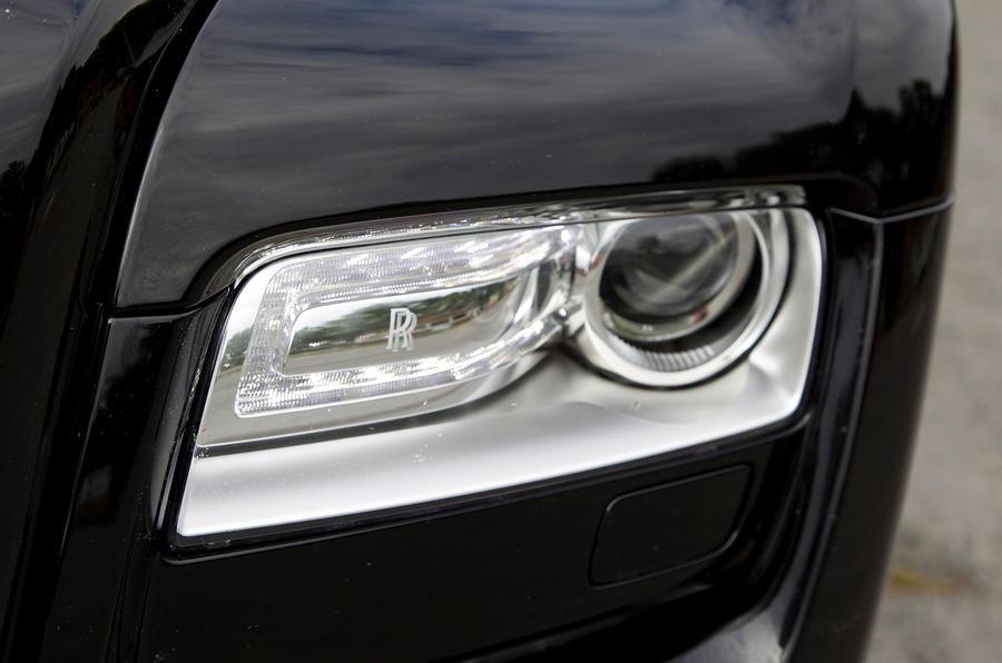 Rolls-Royce Ghost xenon headlights