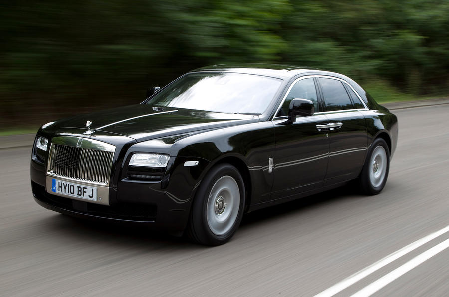 Rolls-Royce Ghost front quarter