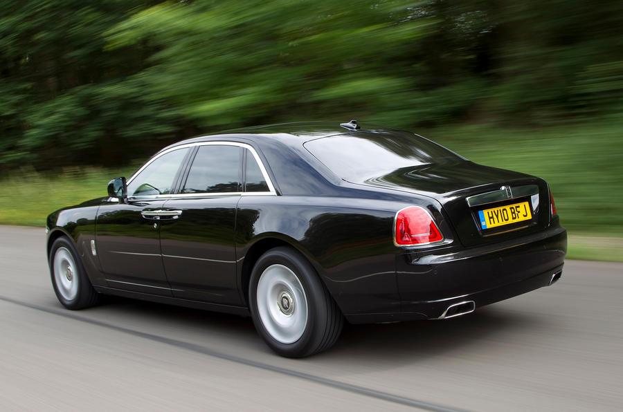 Rolls-Royce Ghost rear quarter