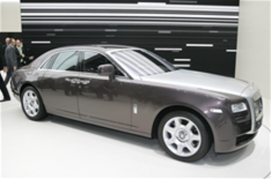 Rolls-Royce plans hybrid Ghost