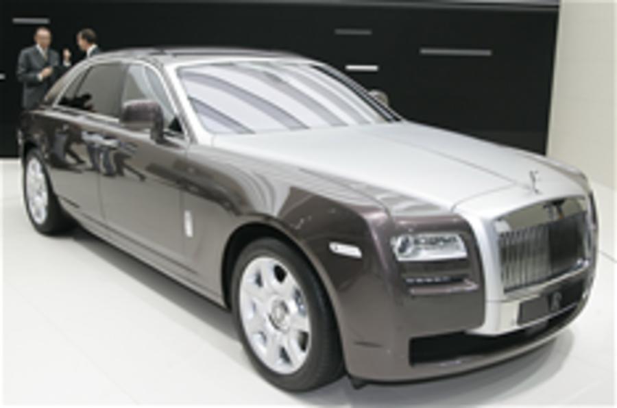 Frankfurt motor show: Rolls-Royce Ghost