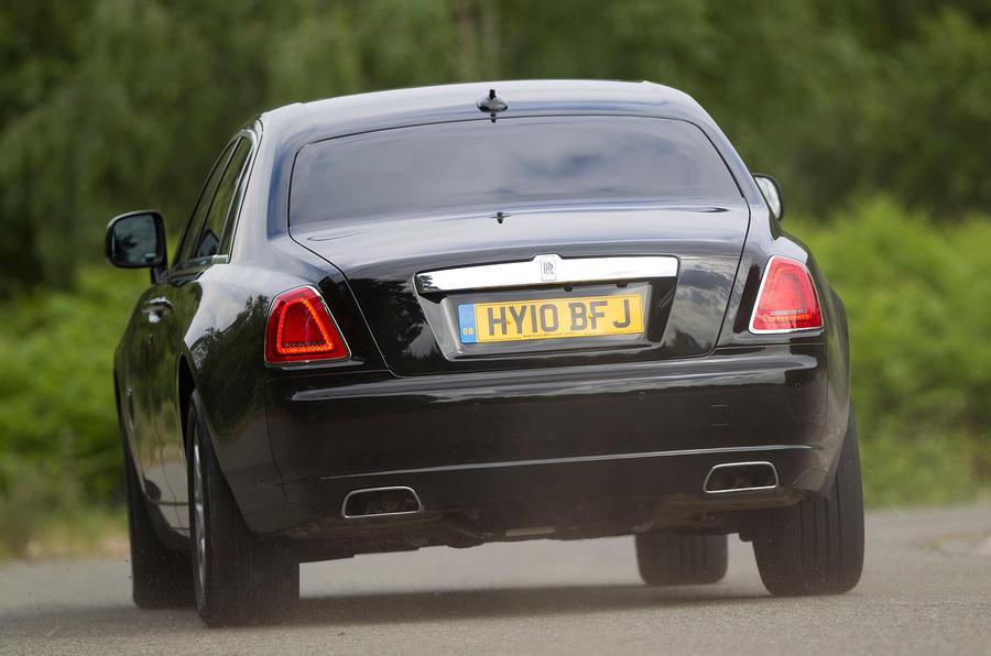 Rolls-Royce Ghost rear cornering