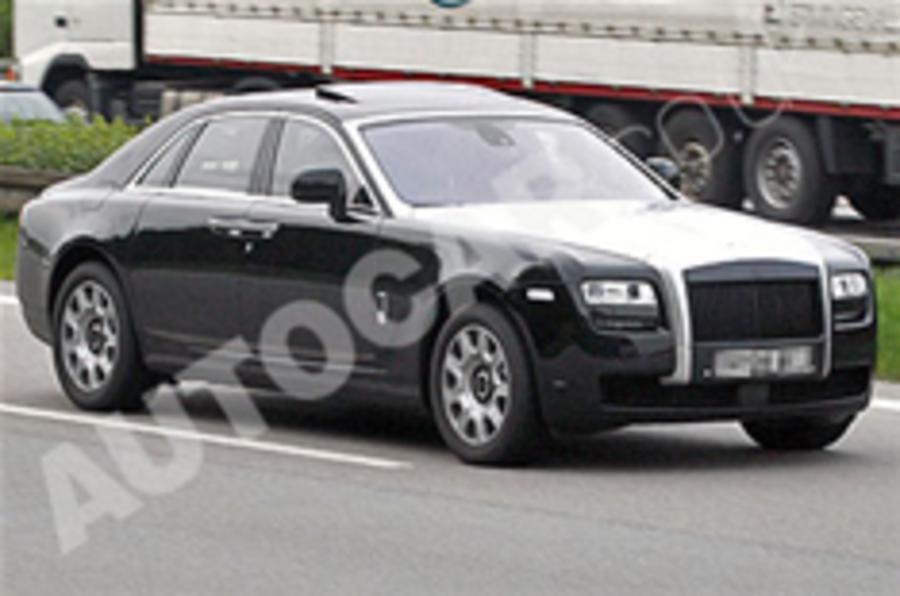 Spied: Rolls-Royce Ghost