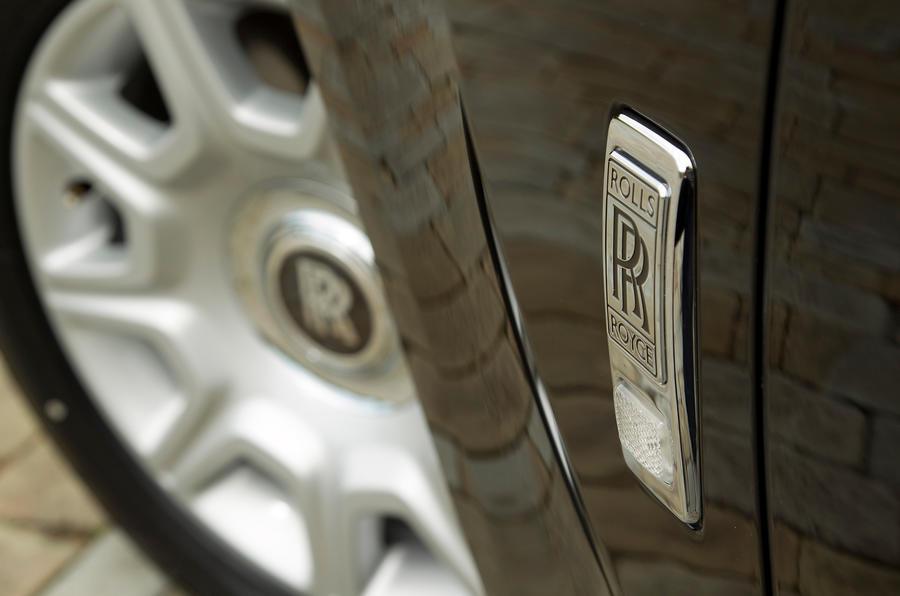 Rolls-Royce Ghost alloy wheels