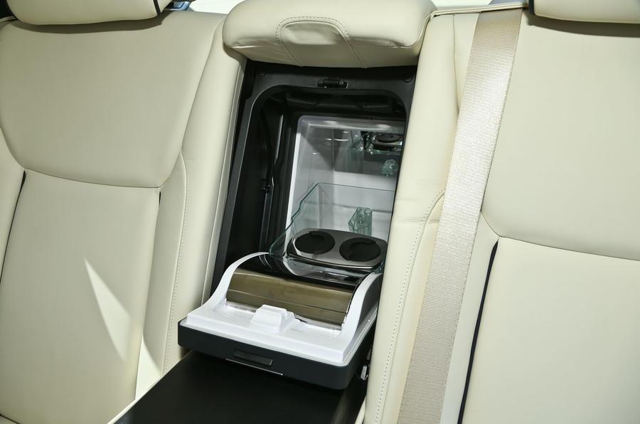 Rolls-Royce Ghost refridgerator