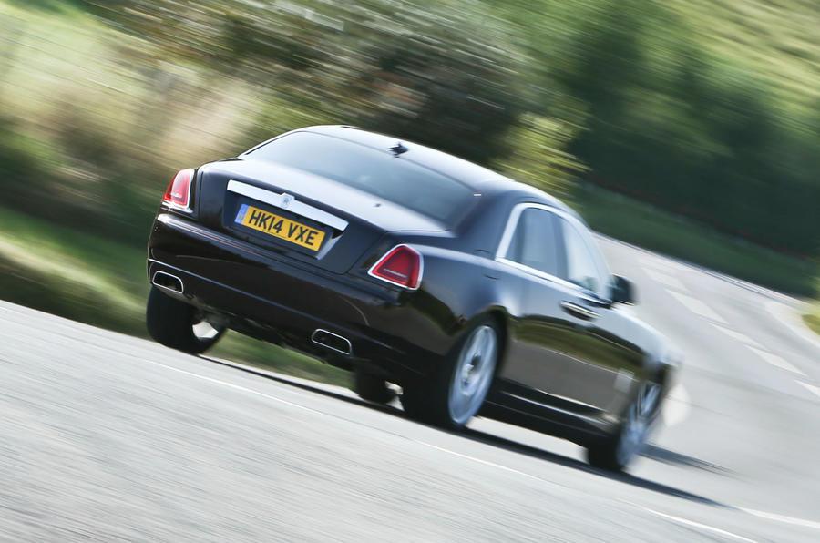 Rolls-Royce Ghost Series II rear cornering