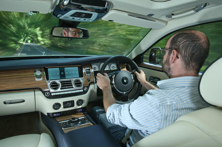 Driving the Rolls-Royce Ghost