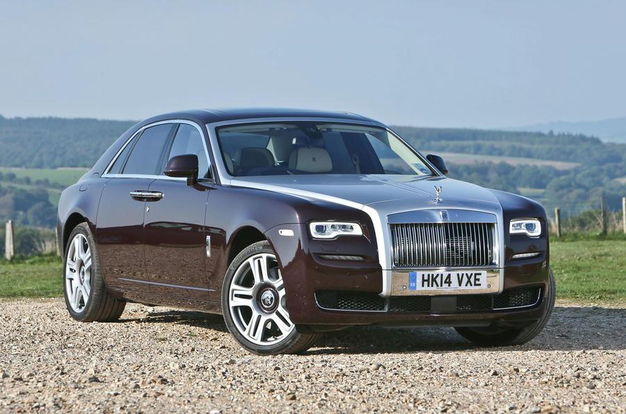 4.5 star Rolls-Royce Ghost Series II