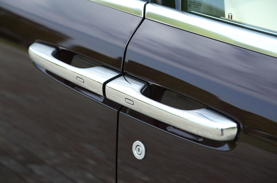 Rolls-Royce Ghost door handles