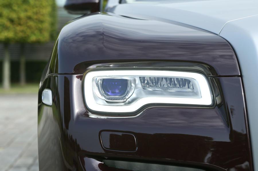 Rolls-Royce Ghost Series II LED headlights