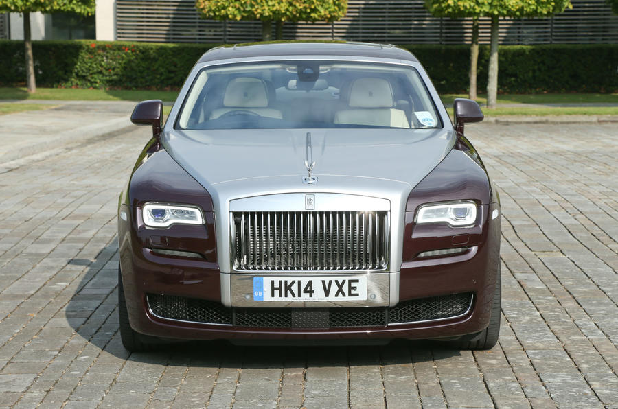 Rolls-Royce Ghost front end
