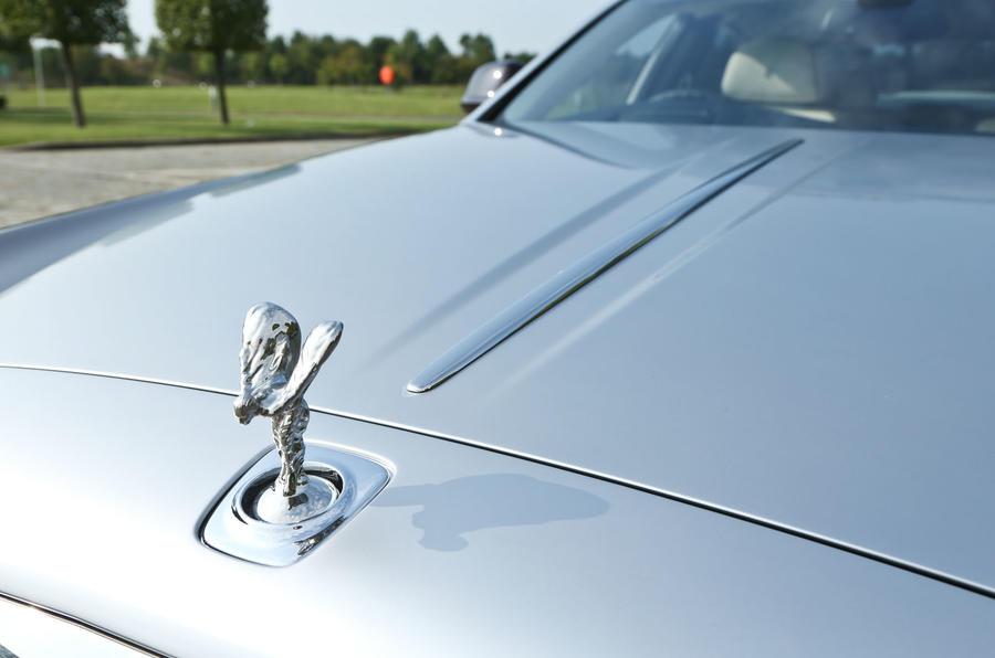 Rolls-Royce flying lady