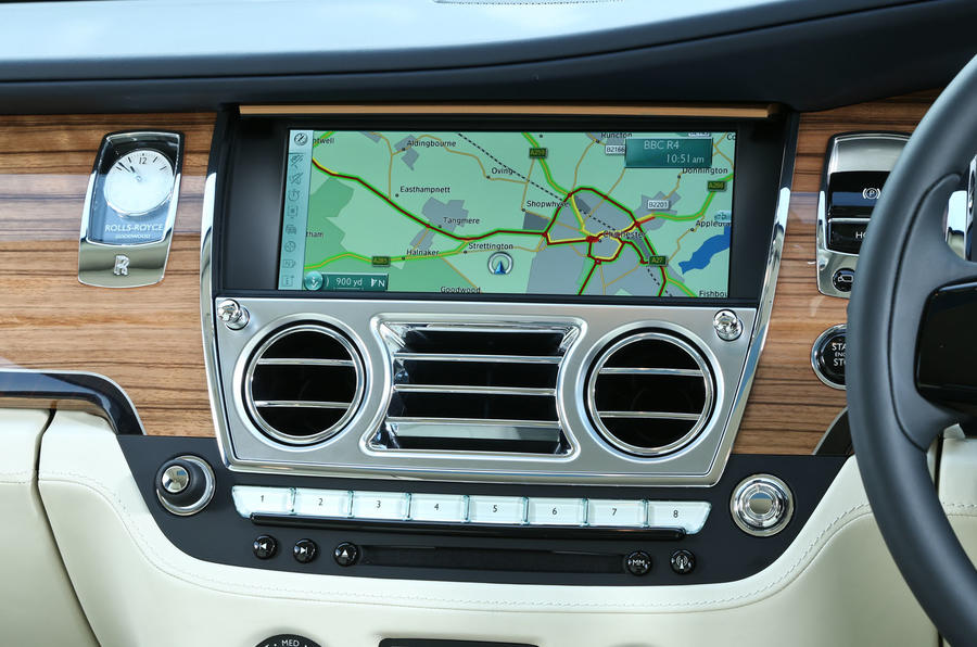 Rolls-Royce Ghost Series II infotainment