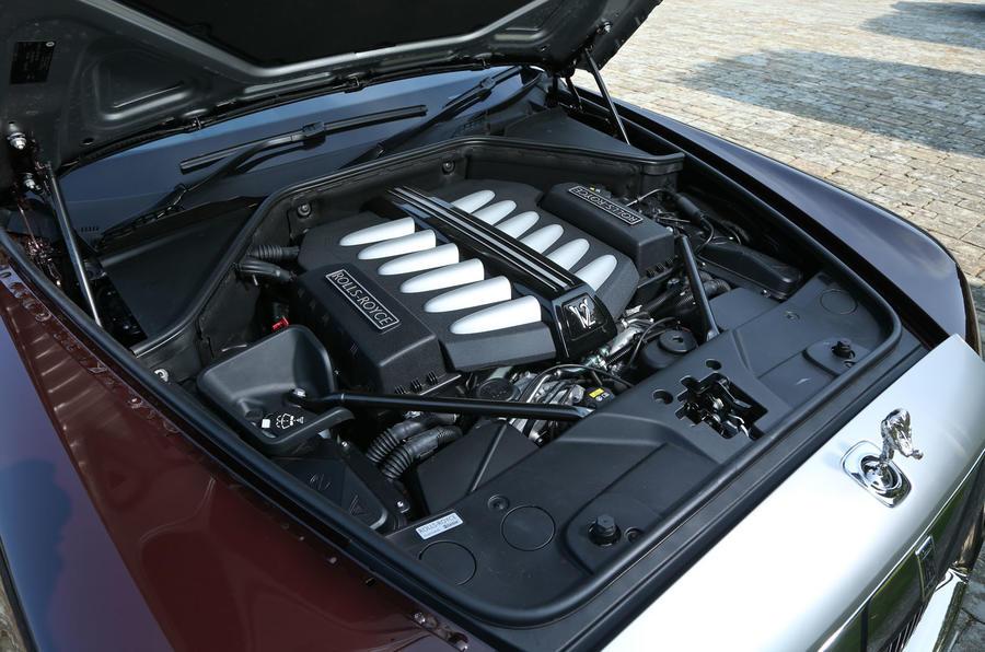 6.2-litre V12 Rolls-Royce Ghost engine