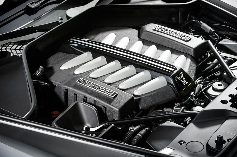 6.5-litre V12 Rolls-Royce Ghost V12 engine