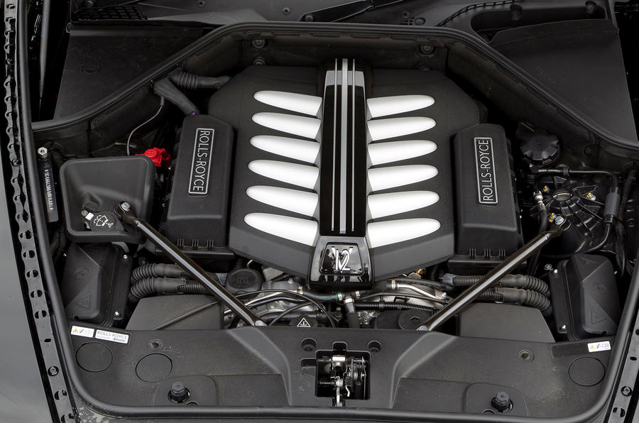 6.75-litre V12 Rolls-Royce Ghost engine