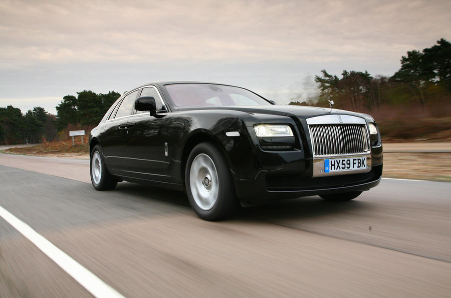 Rolls-Royce plans Ghost concepts