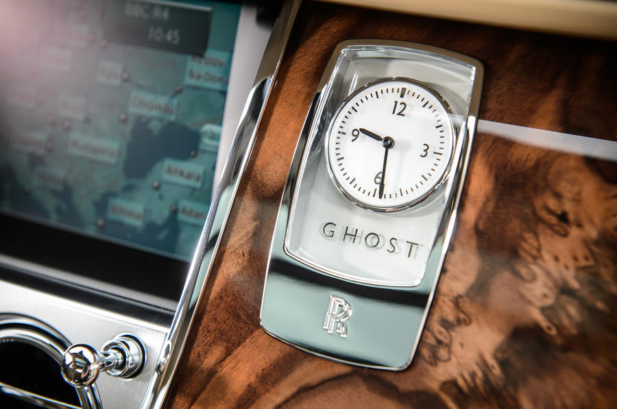 Rolls-Royce Ghost clock