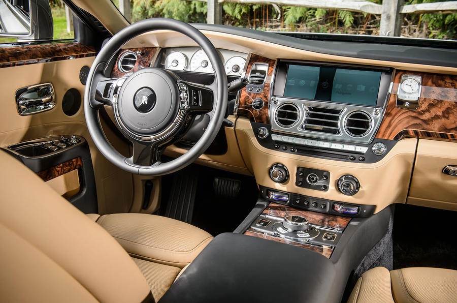 Rolls-Royce Ghost dashboard