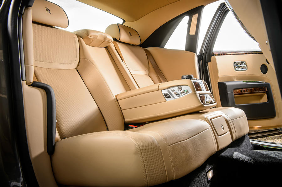 Rolls-Royce Ghost rear seats