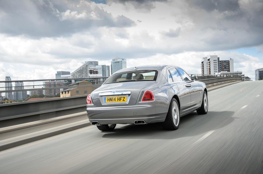 Rolls-Royce Ghost rear
