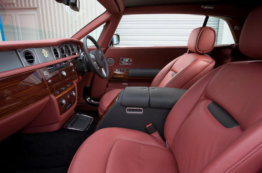 Rolls-Royce Phantom Coupé front seats