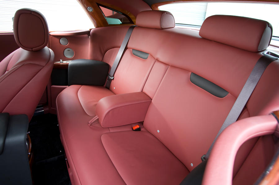 Rolls-Royce Phantom Coupé rear seats