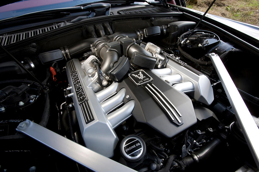 6.75-litre V12 Rolls-Royce Phantom Coupé engine