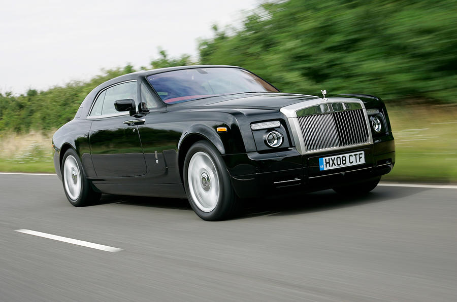 Rolls-Royce Phantom Coupé front quarter