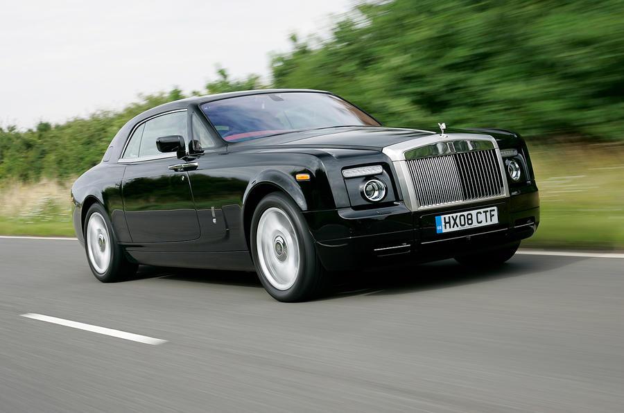 Rolls-Royce Phantom Coupé front quarter