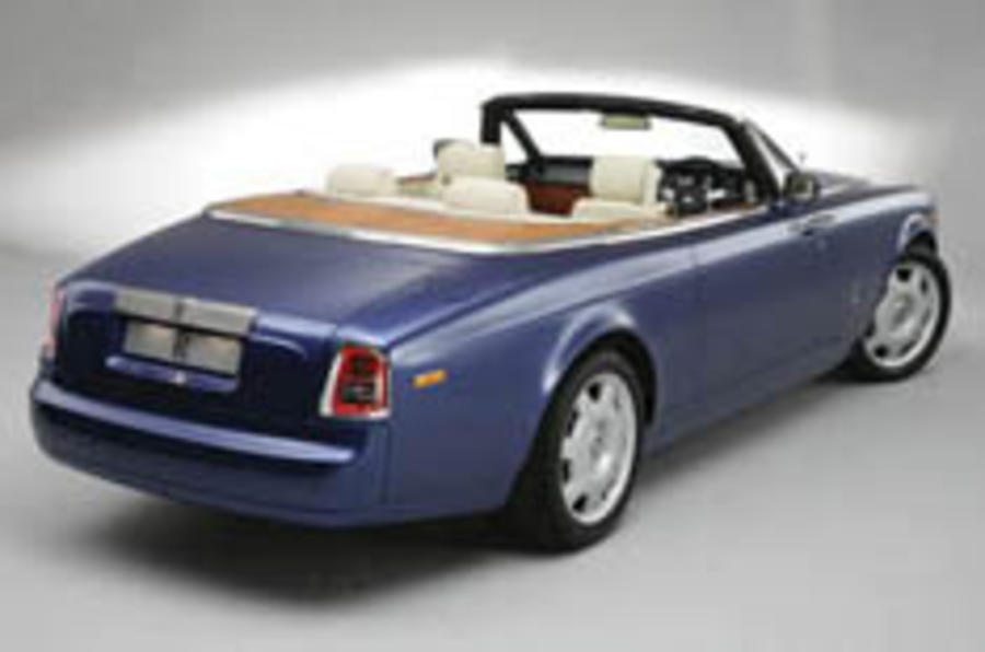 Rolls-Royce Phantom Convertible is go