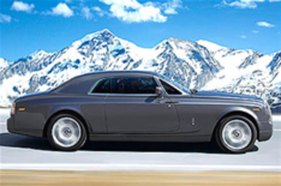 Rolls-Royce Phantom Coupe debut