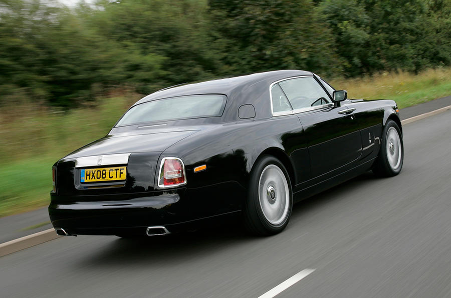 Rolls-Royce Phantom Coupé rear quarter