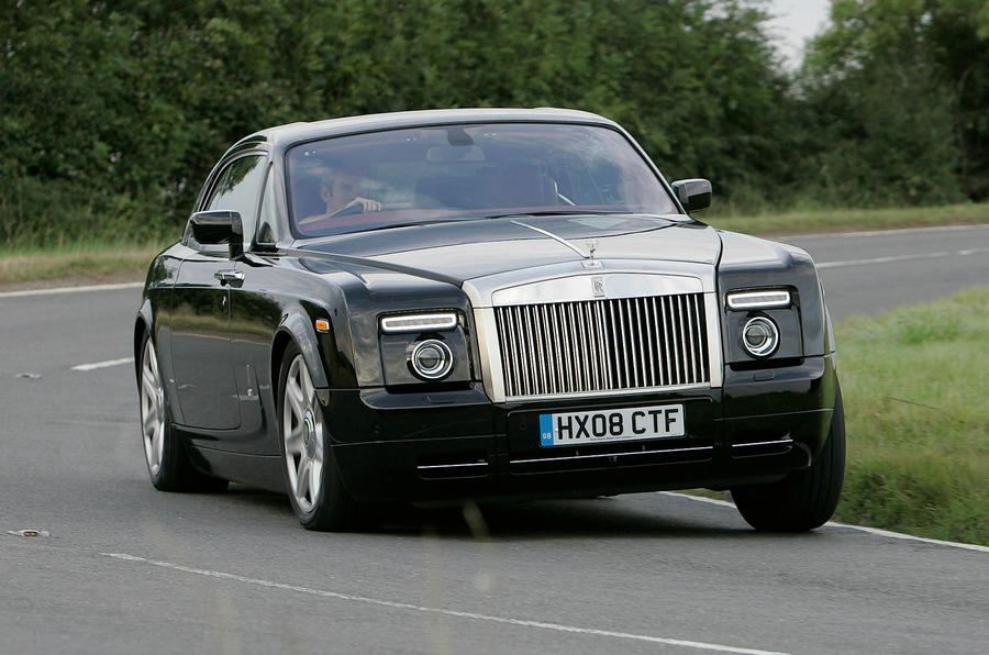Rolls-Royce Phantom Coupé cornering