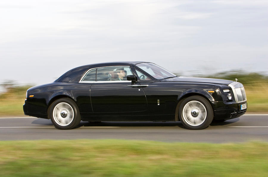 Rolls-Royce Phantom Coupé side profile