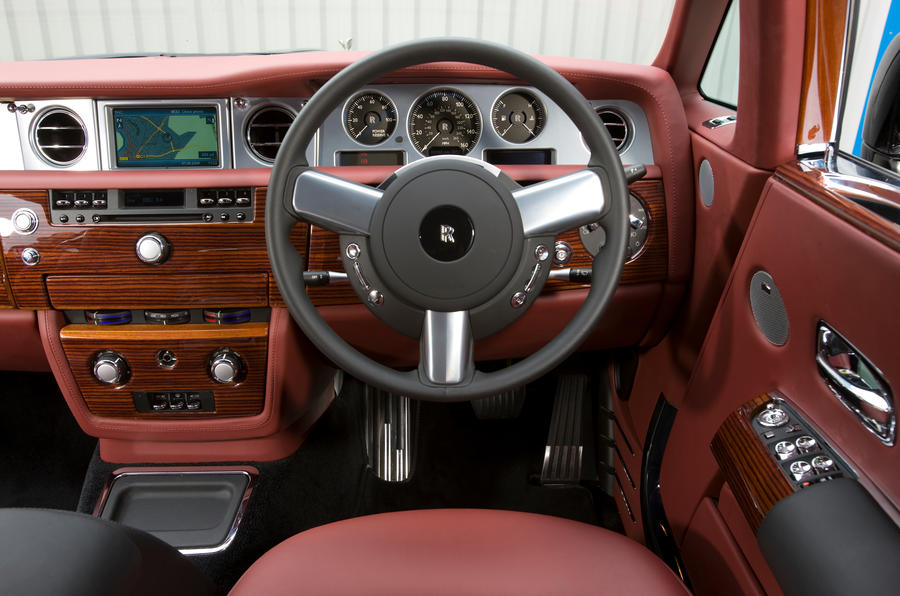 Rolls-Royce Phantom Coupé dashboard