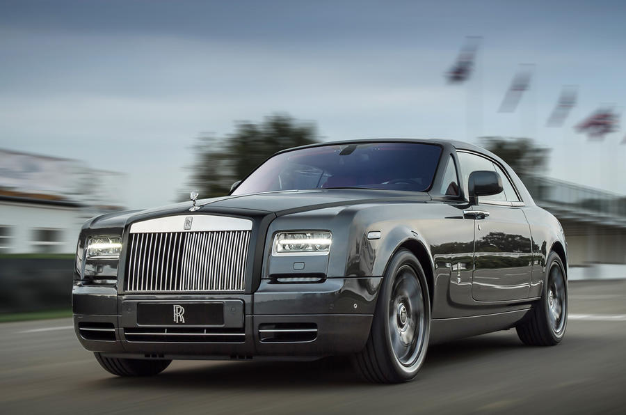 Bespoke Rolls-Royce Phantom Coupe revealed