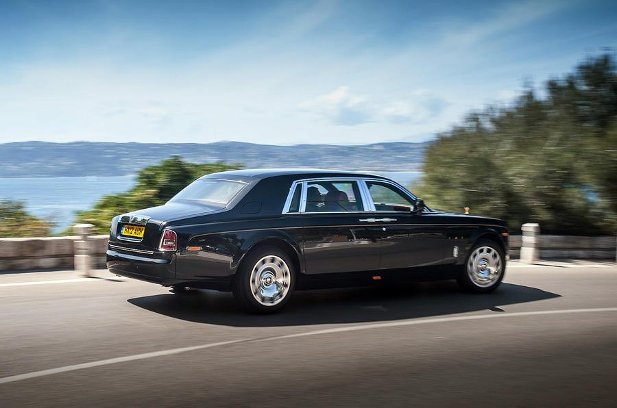 Rolls-Royce Phantom EWB rear