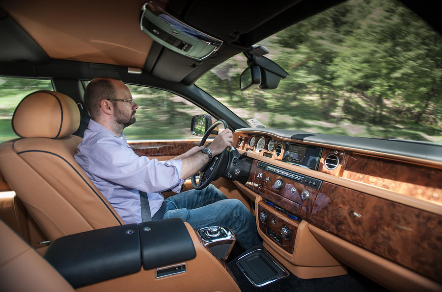 Driving the Rolls-Royce Phantom EWB