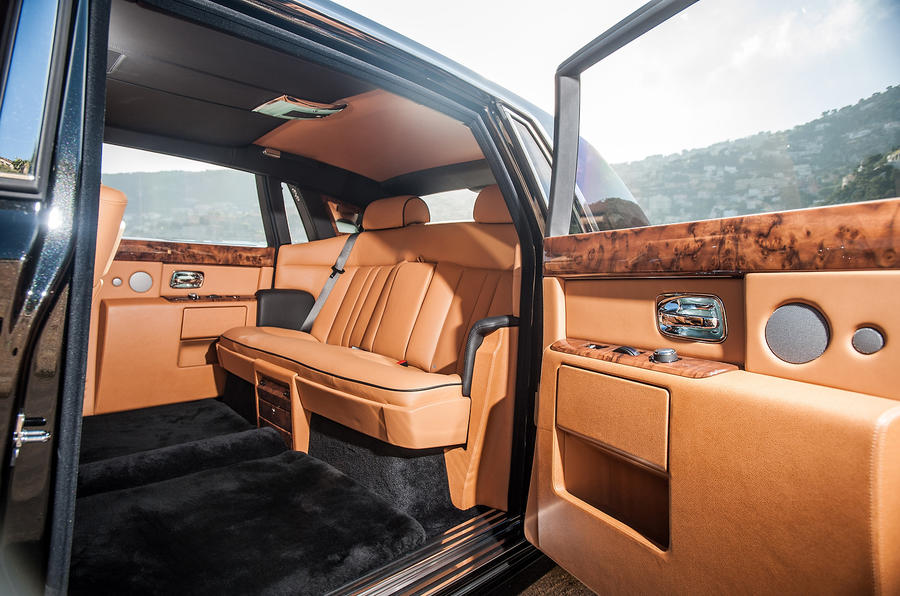 Rolls-Royce Phantom EWB interior